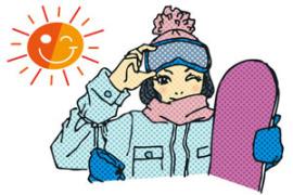 紫外線 冬