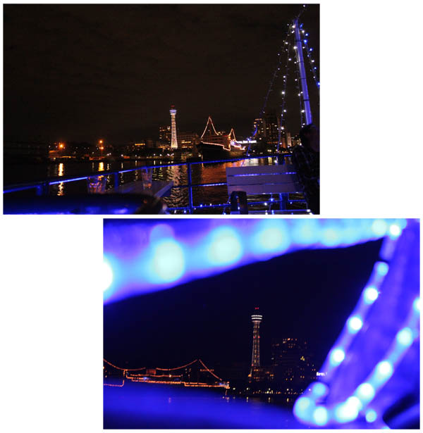 横浜みなとみらい夜景