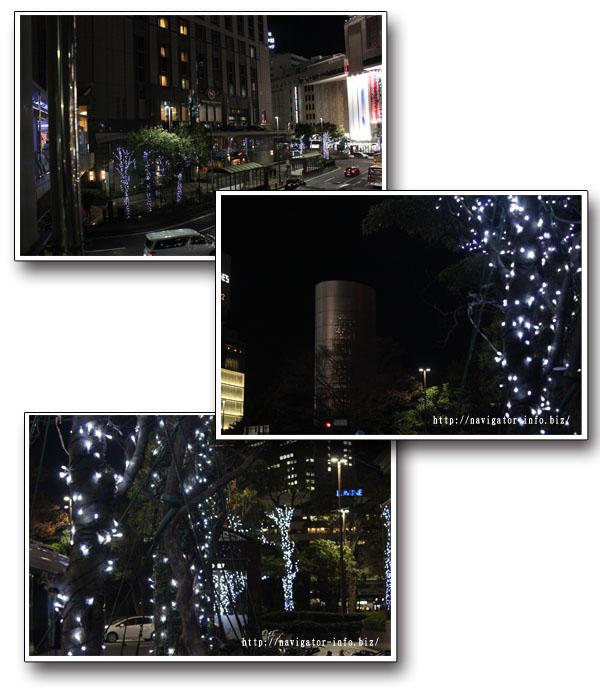 横浜駅西口イルミネーション