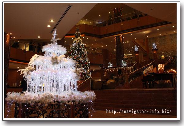 横浜ベイシェラトンクリスマスイルミネーション
