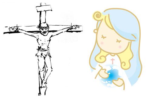 キリスト聖母マリア