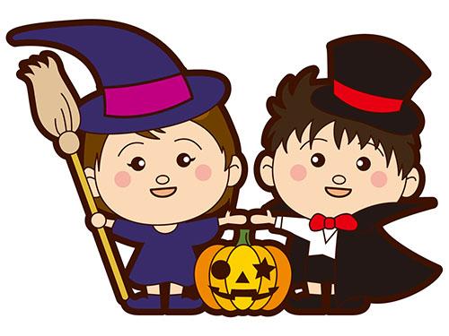ハロウィン子供の衣装