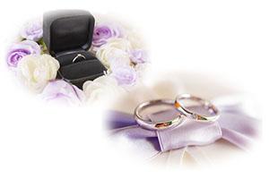 結婚指輪と婚約指輪の違いは