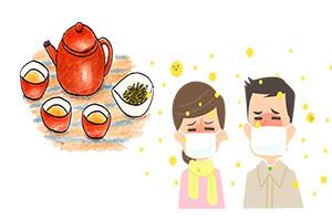 甜茶で花粉症対策