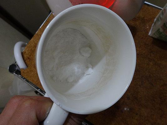 重曹コーヒー汚れ