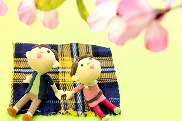 お花見デート