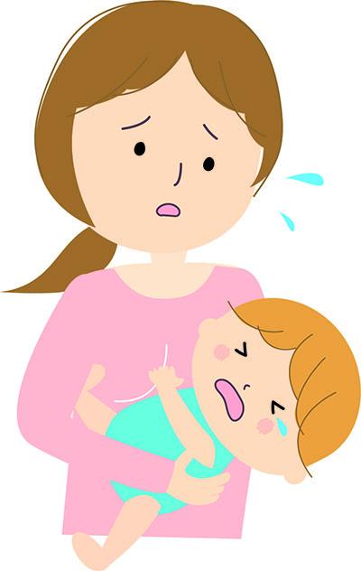 赤ちゃんストレス
