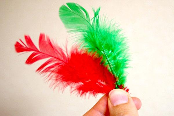 赤い羽根と緑の羽根の違い