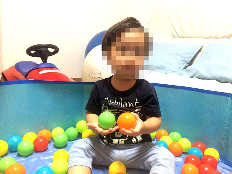 100均のおもちゃ ボールとお砂場セットで遊んだ!