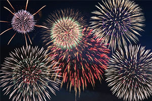 名古屋みなと祭りの花火