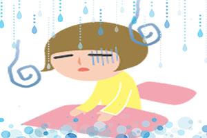 梅雨になると体がだるい