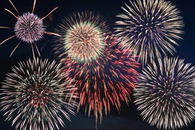 海の日名古屋みなと祭りの花火
