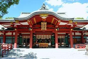 西宮神社の厄払い