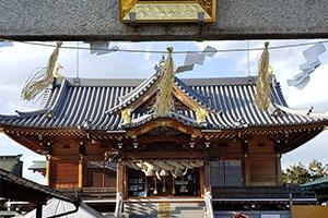 岡山の神社 厄除けでおすすめ、沖田神社
