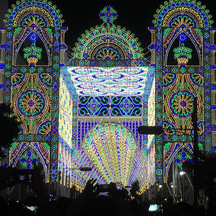 神戸ルミナリエの混雑