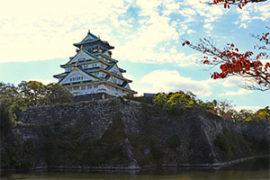 大阪城公園紅葉の見頃