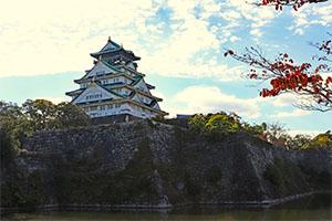 大阪城公園紅葉の見頃やみどころは