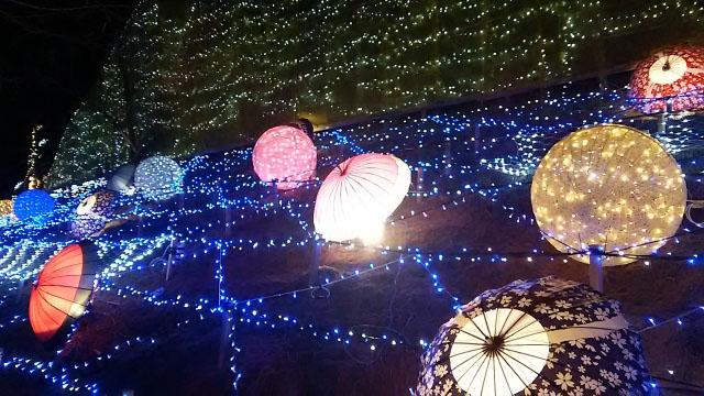 鳥取砂丘 イルミネーション5