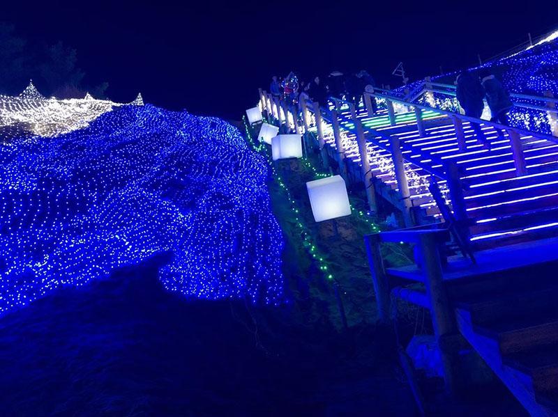 鳥取砂丘 イルミネーション1