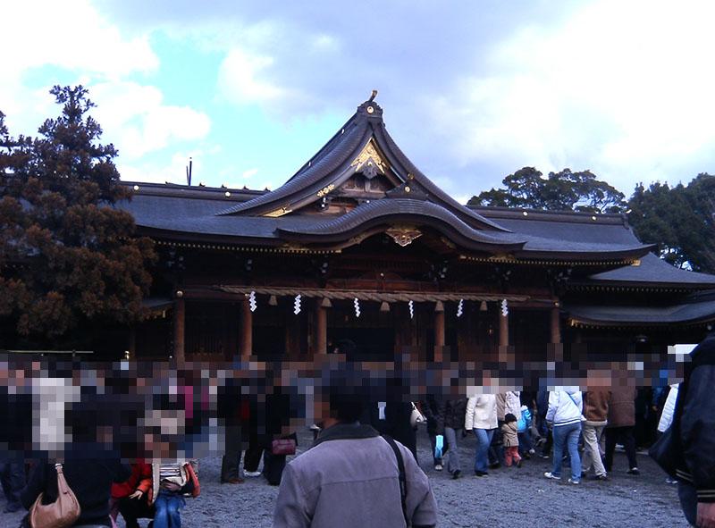 神奈川の初詣 寒川神社