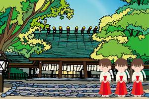 熱田神宮へ厄払い