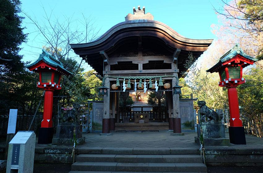 写真は江島神社中津宮