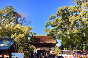 初詣 愛知の津島神社