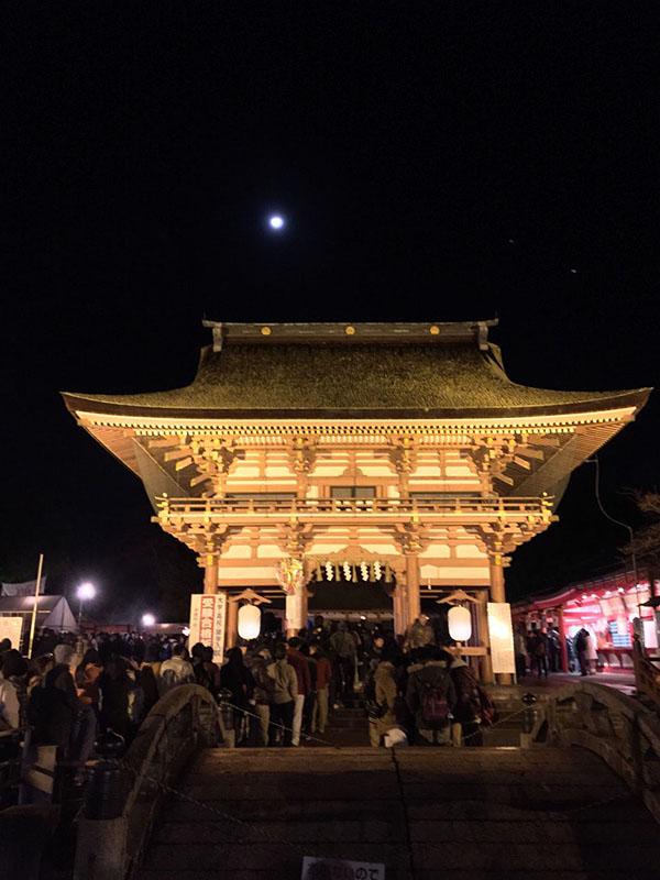津島神社 桜門