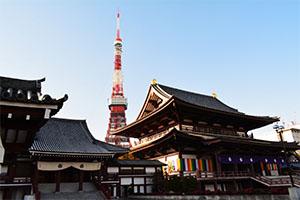 増上寺の初詣の混雑状況
