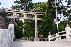 寒川神社のお宮参り