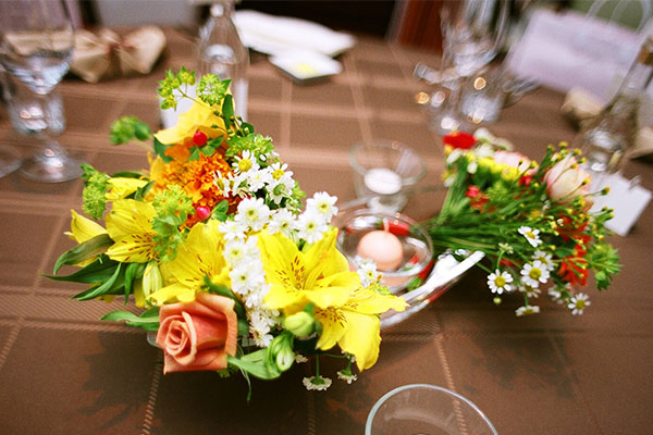 結婚式 ゲストテーブル