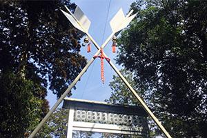 滋賀県田村神社の厄払い