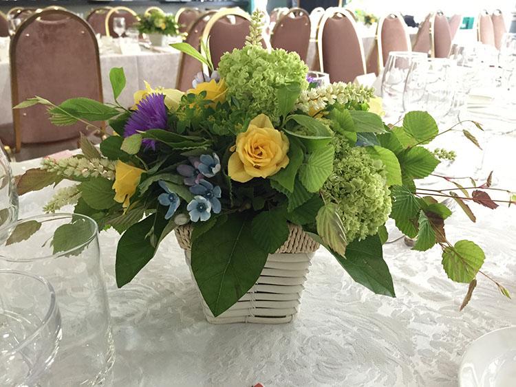 結婚式卓上装花