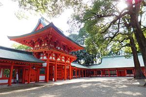 大宮氷川神社のお宮参り
